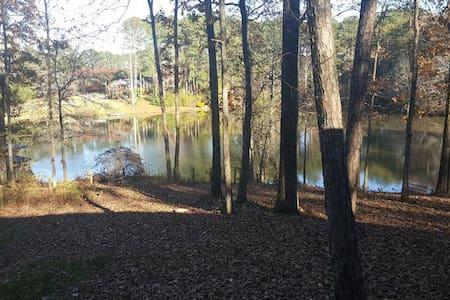 Gorgeous South Atlanta Lake Cabin - House