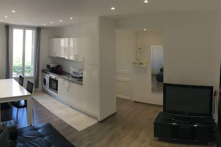 Charmant 2p entièrement rénové, calme et lumineux - Nice - Apartment