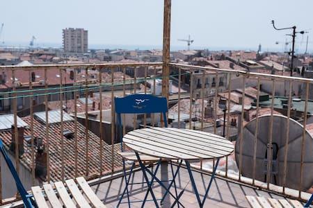 Loft 4-5 personnes climatisé / centre-ville Sète - Sète