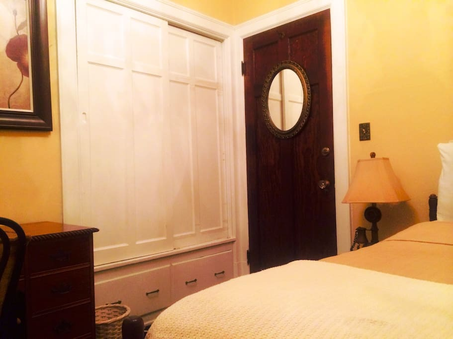 Our Postulant (economy) Rooms are the cozy of our guest rooms.