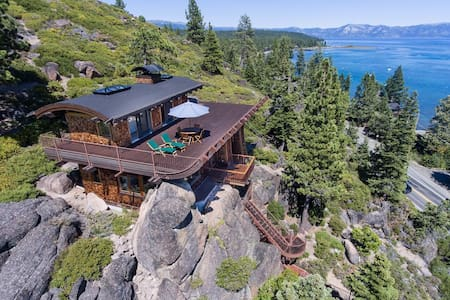 Private Lake Tahoe retreat with great views. - Tahoe City - Ev