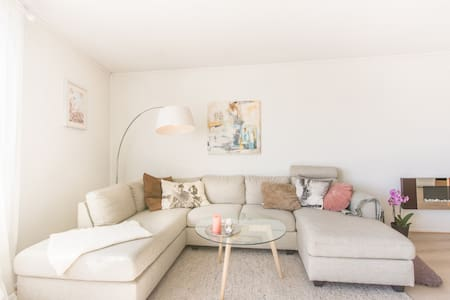 Bright and cozy apartment with beautiful view - Trondheim - Wohnung