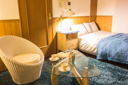 (26) Cosy room!6min from Kyoto sta. - Appartement
