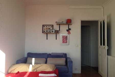 Spacious room in quiet & nice area - Apartment