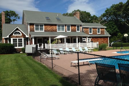 Hamptons - East Quogue - 5 bedroom home with pool - East Quogue - House