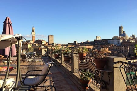 Siena's Terrace - Residenza d'epoca centro storico - Siena