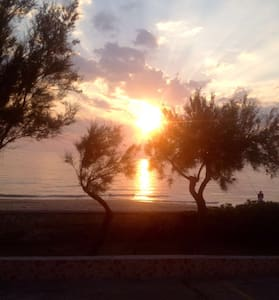 Italy, Puglia-Sunny beach front 2br - Wohnung