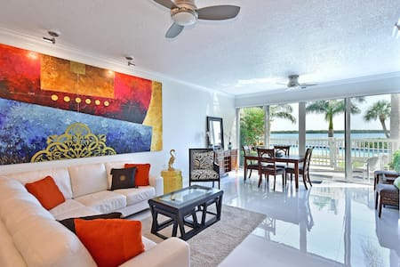 Longboat Key Condo Waterfront #107 - 아파트(콘도미니엄)
