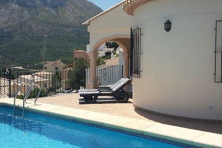Luxe 6 persoons villa aan de Costa-Blanca. - L'Atzúbia - Villa
