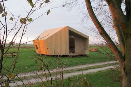 Ecolodge near the Wadden Sea - Cabane