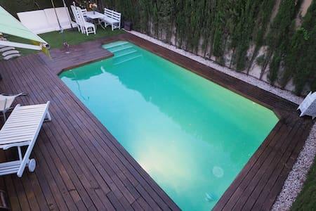 Villa con piscina privada y baño privado - Siviglia - Villa