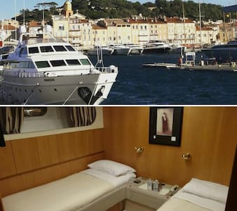 Twin Room on a yacht IPSUM - Saint-Tropez - Barco