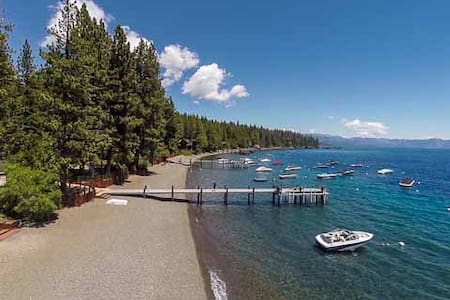 Tahoe Park Bears Tavern Private HOA- walk to beach - Haus