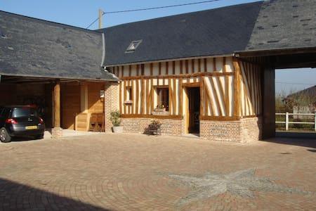 """les Tilleuls"" - Nibas - House"