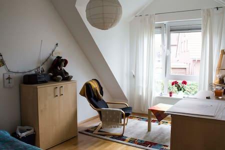 Ruhiges Zimmer nahe Sparrenburg - Reihenhaus