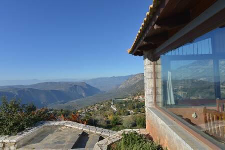 See Delphi -Arachova Panoramic view - Rumah