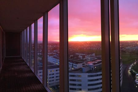 12th Floor Views at Dublin Airport - Santry