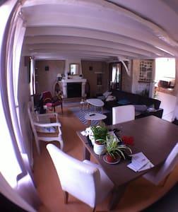 Chambre dans maison de village proche Périgueux - Saint-Laurent-sur-Manoire - Huis