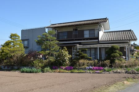 US family in quiet countryside of North Gunma - House