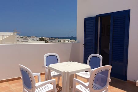 Aura duplex con terraza vista mar - Leilighet