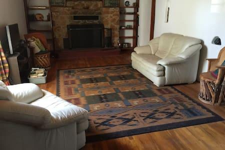 Historic 100-yr old Adobe Home - Tularosa - Haus