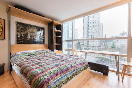 Studio apartment with city view - Vancouver - Apartment