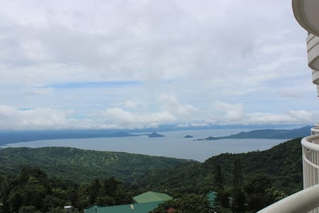 Tagaytay, Taal Lake View Room (17th Floor) - Tagaytay - Appartamento
