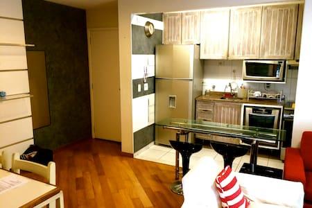Moderno, equipado, confortável e bem localizado! - Són Paulo - Pis