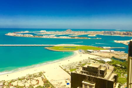 JBR - Panoramic Beach & Palm Views! - Dubai - Appartamento