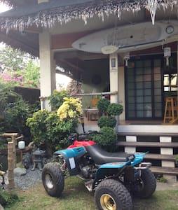 Modern Philippine kubo - House
