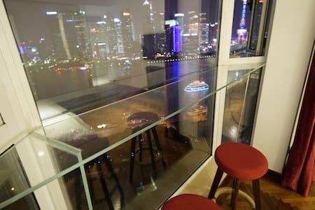North Bund Riverview1bedroom, Bar counter,Jacuzzi, - Shanghai - Apartment