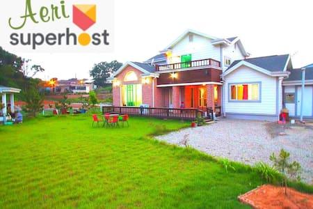 넓은 잔디&전원 주택/2층전체 사용/바베큐가능/방2,욕실1/김포공항30분/장기숙박50% - Casa