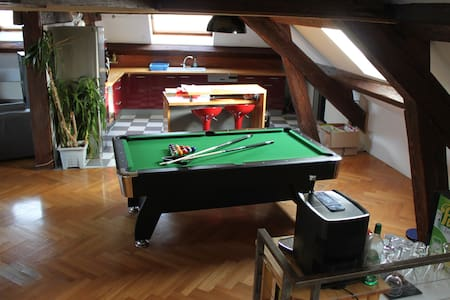 Loft spacieux , Belfort centre - Apartament