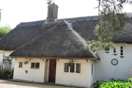 Beautiful 16C Grade 2 thatched house - double room - Bed & Breakfast