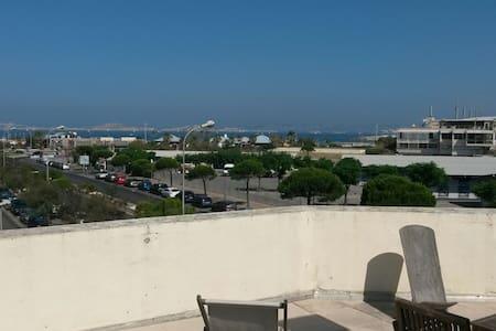 3 pièces Vue Mer 100m de la Plage - Marseille - Apartment