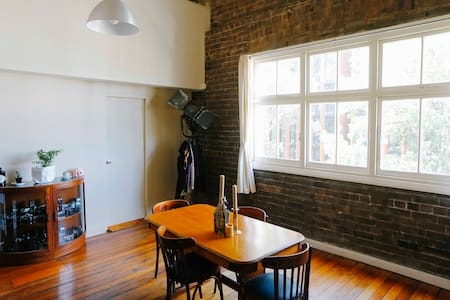 Warehouse Loft Apartment in creative Chippendale - Chippendale - Loft