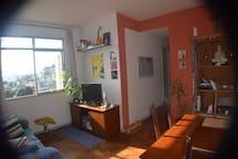 Apartamento aconchegante em Santa Tereza