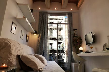 ***** Vintage STUDIO APARTMENT in the CENTER **** - Barcelona - Apartment