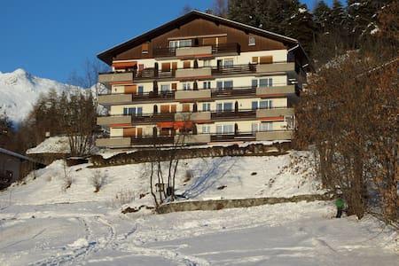 Fantastic 5 room apartment (1-8 p) - Fiesch