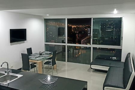 Beautiful View Apartment In Poblado - Byt