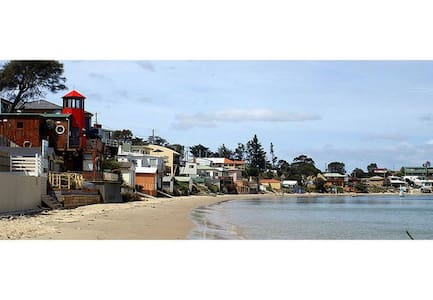 The Lighthouse on the Beach - BEST BEACHFRONT!! - Opossum Bay - House