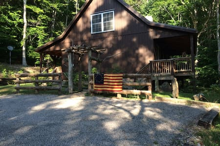 Buck Lair Rental Vacation Cabin & Retreat - Newport Blacksburg - Kisház