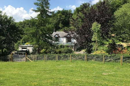Peaceful 3 Bedroom Cottage in the Welsh Hills - Machynlleth - Rumah