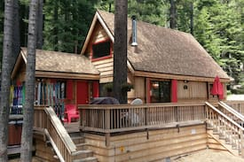Picture of Three Bears Cabin, 2+1, Hot Tub