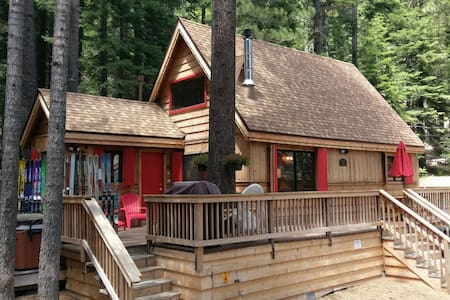 Three Bears Cabin, 2+1, Hot Tub - Haus