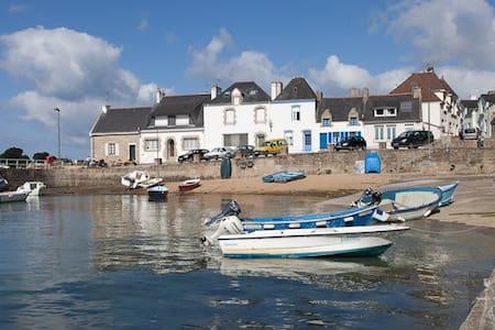 Petite maison de pêcheur sur la Ria d'Etel - Plouhinec - Dom