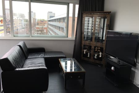 New glass party and indoor balcony - Apartament