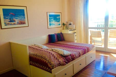 Cosy double bedroom with balcony :) - Apartemen