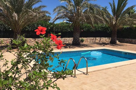 Villa with beautiful, relaxing location. - Binibequer