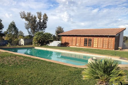 Santa Ynez, pool & spa, 5 acres - Santa Ynez - Haus